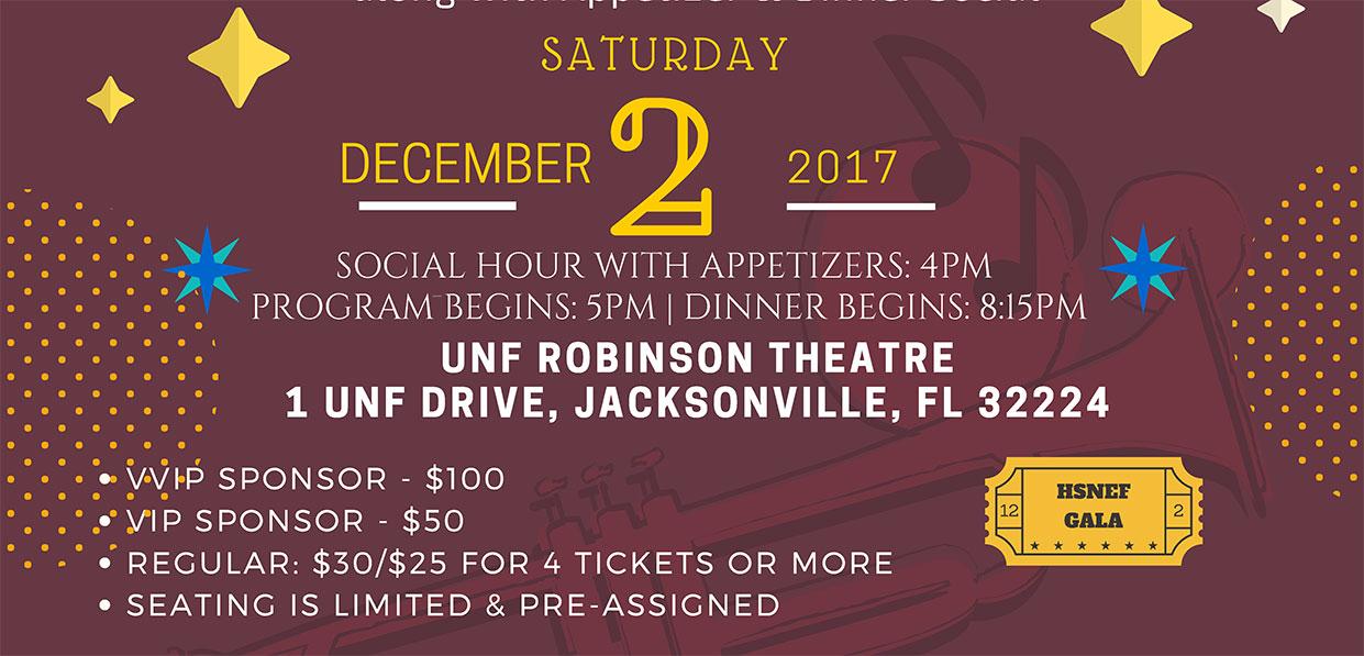 UNF ROBINSON THEATRE1 UNF DRIVE, JACKSONVILLE, FL 32224