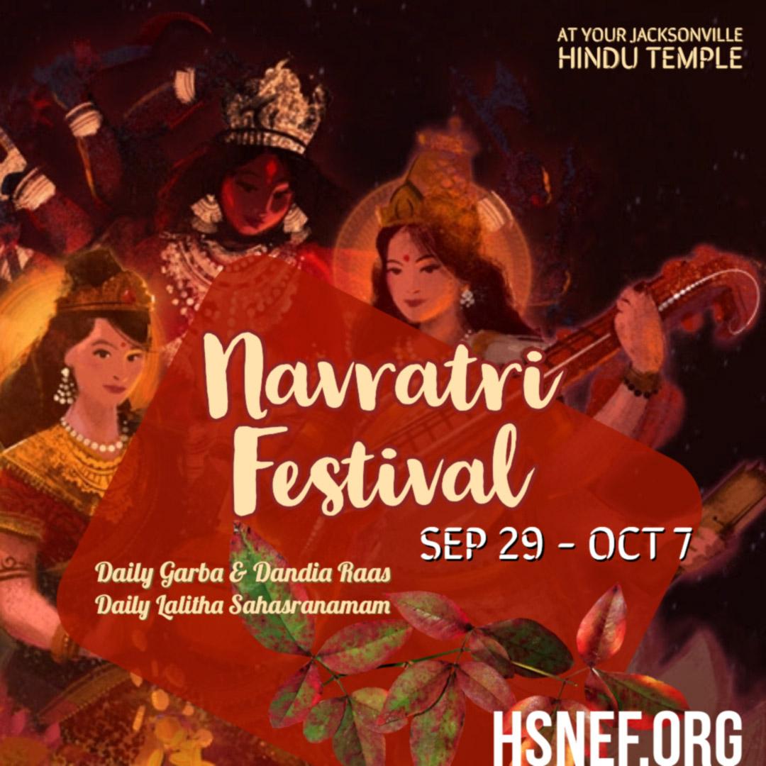 Navaratri Festival at HSNEF